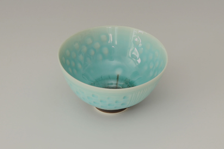 Peter Wills Ceramic Porcelain Bowl 158
