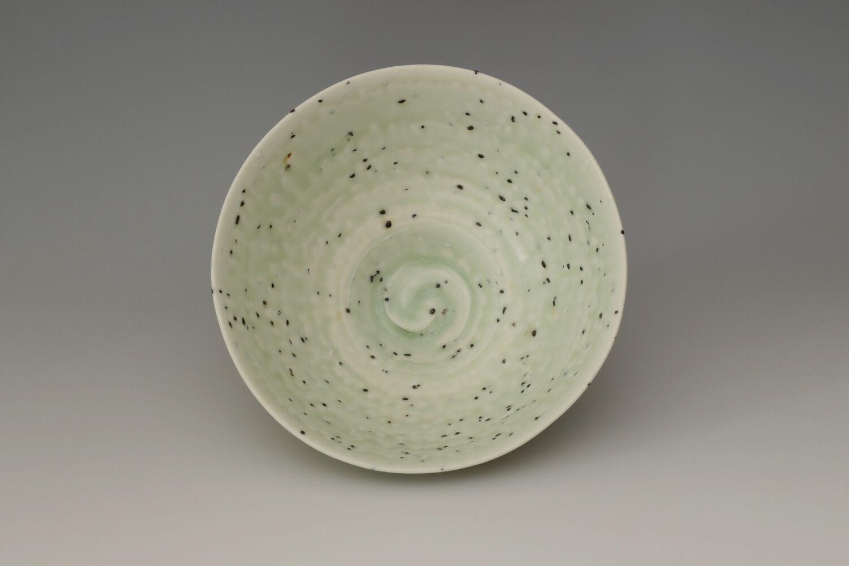 Peter Wills Ceramic Green River Grogged Porcelain Bowl 190