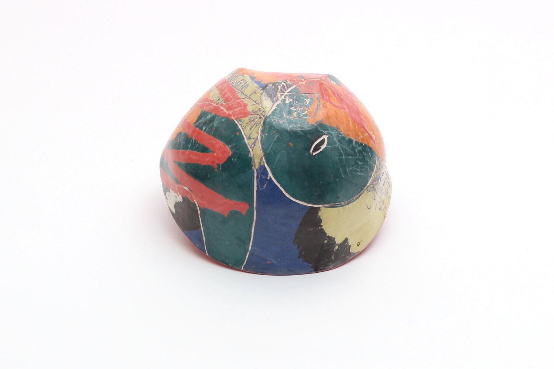 Carolyn Genders Ceramic Bowl 'Abstraction II'