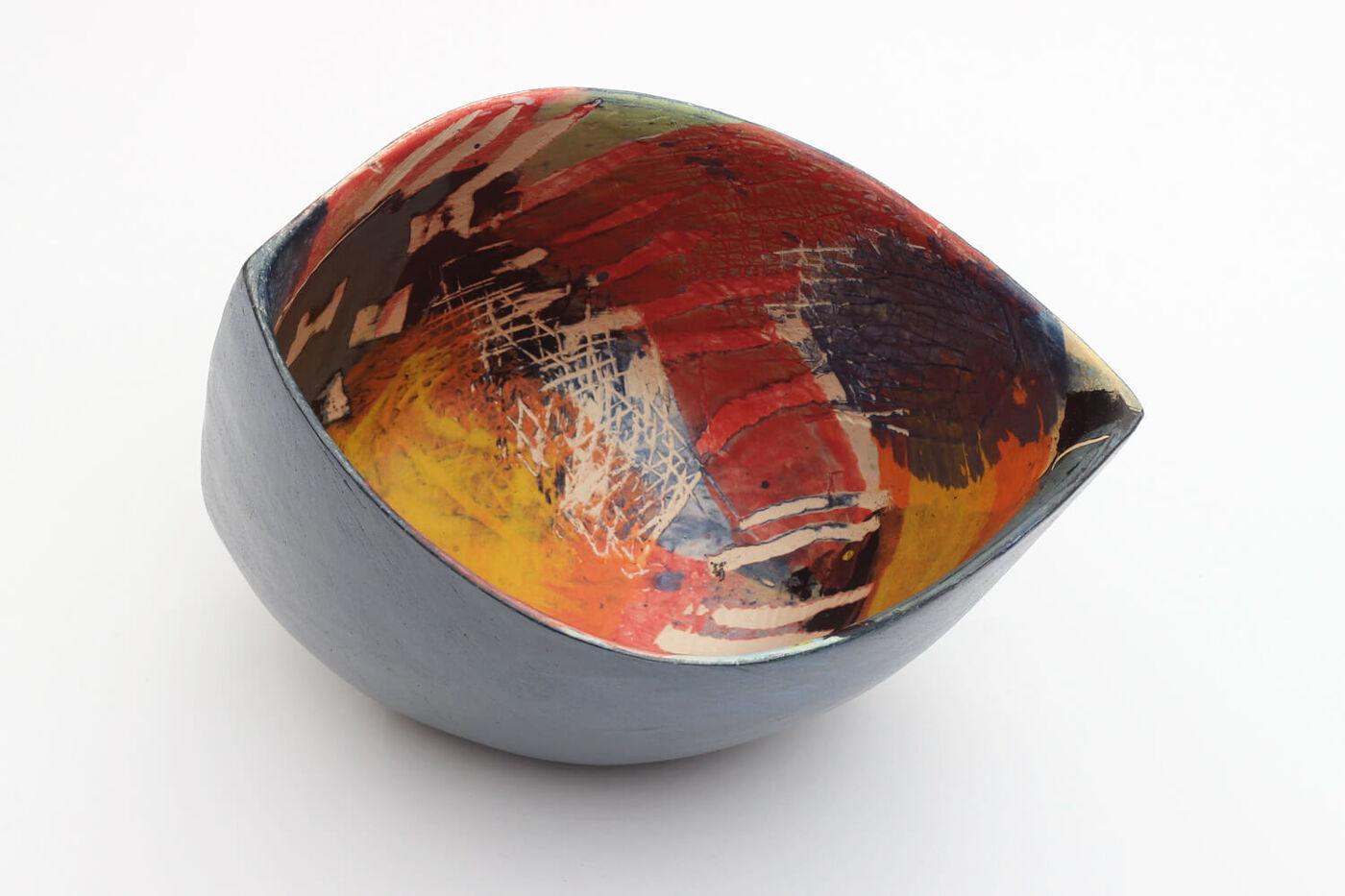 Carolyn Genders Ceramic Vessel 'Summer Evenings V'