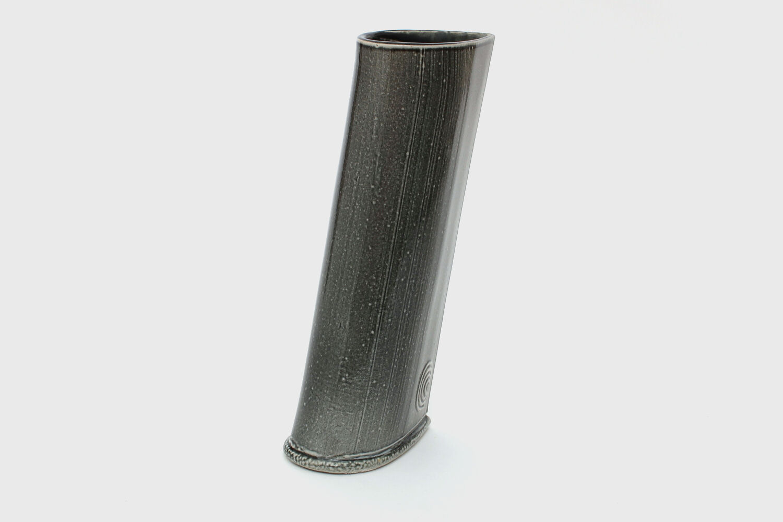 Walter Keeler Ceramic Salt Glazed Sharp Edged Vessel
