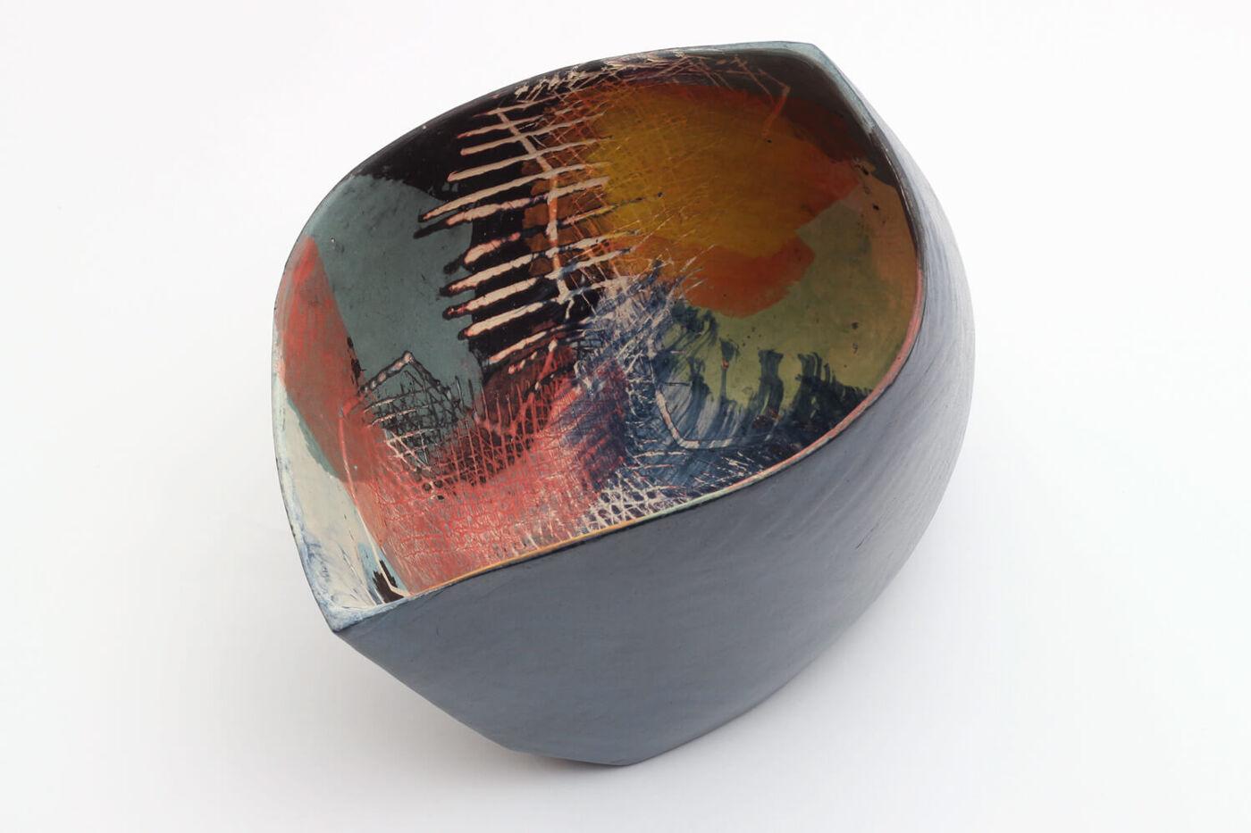 Carolyn Genders Ceramic Vessel 'Summer Evenings IV'