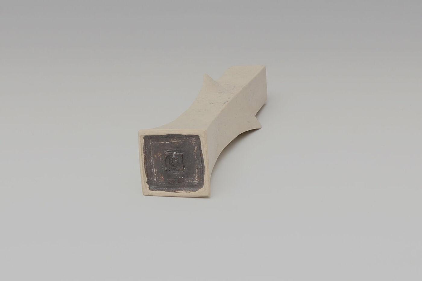 Chris Carter Ceramic Squared Totemic Form 146