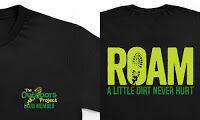 New ROAM club T-shirts