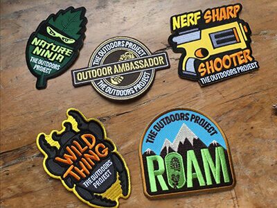 The Outdoors Project badges