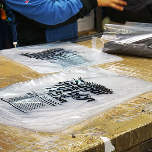 Carbon Neutral Garment Bagging