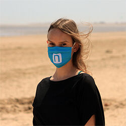 Custom Printed  UK Made Facemasks