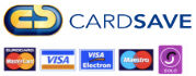 Online payments are securely processed through Cardsave
