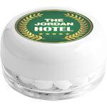 Branded pots of mints