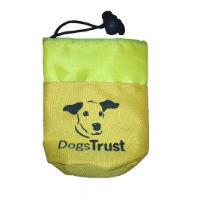 Branded dog treat bag