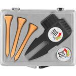 Customised golfing gift box set