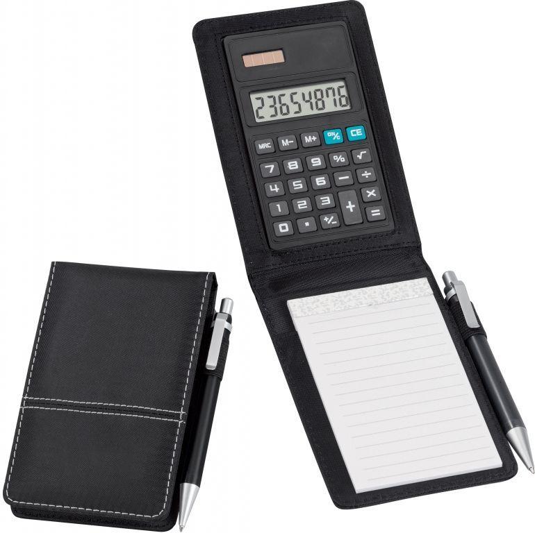 Pocket Jotter Note Pad & Calculator