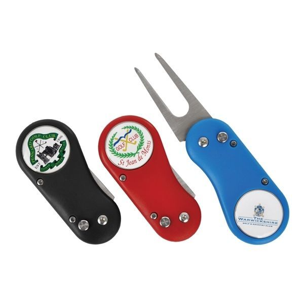 Branded Golf Divot Flix Lite Repair Tool