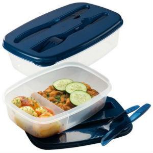 Printed Lunchbox & Cutlery Set