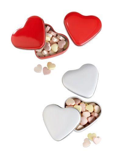 Heart Shaped Sweet Tins