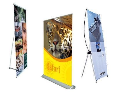 Company Printed Pop-up Exhibition Banners