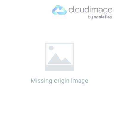 Round plastic hand fan - orange