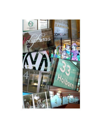 Personalised Printed Window Display Signs