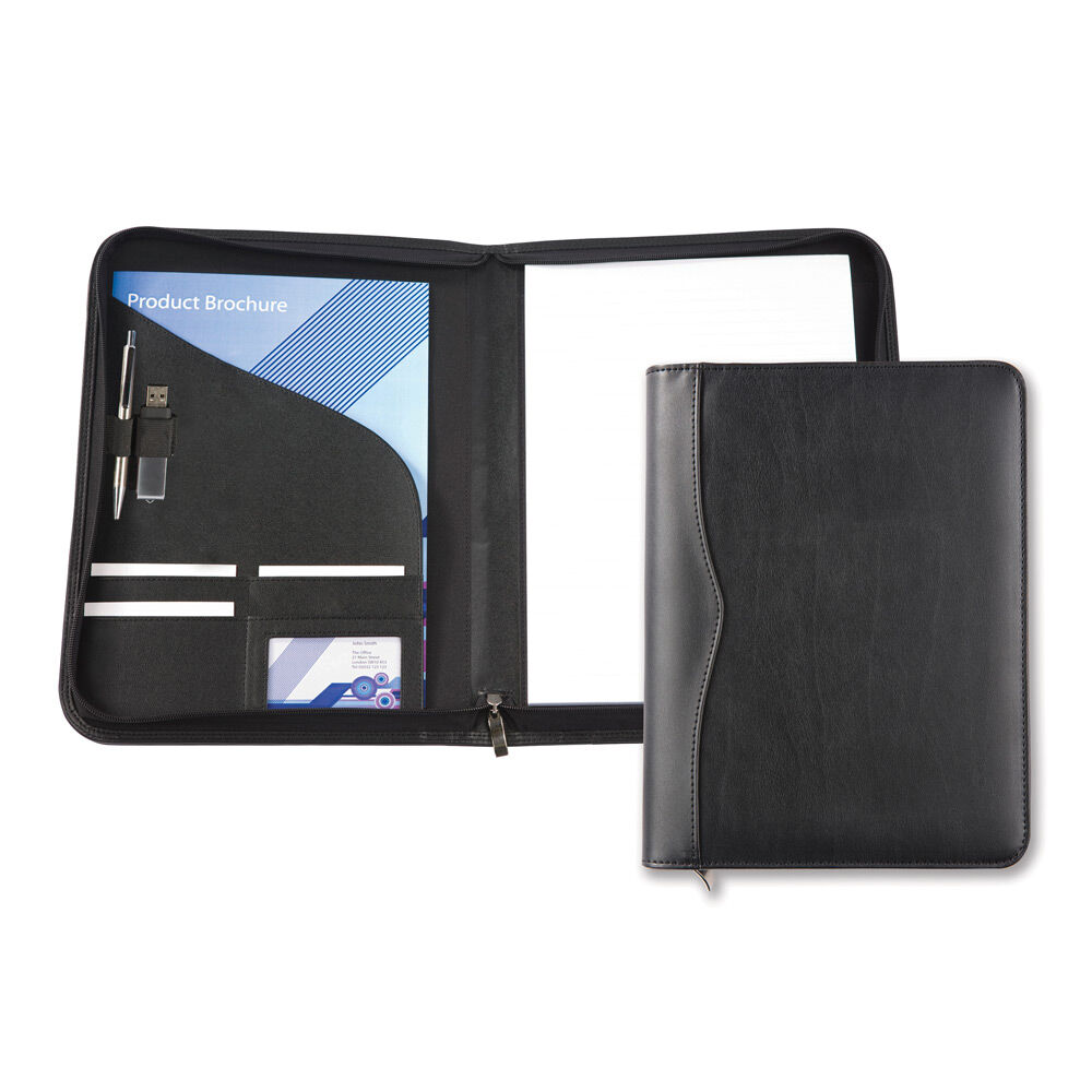 A4 Zipped Conference Folder