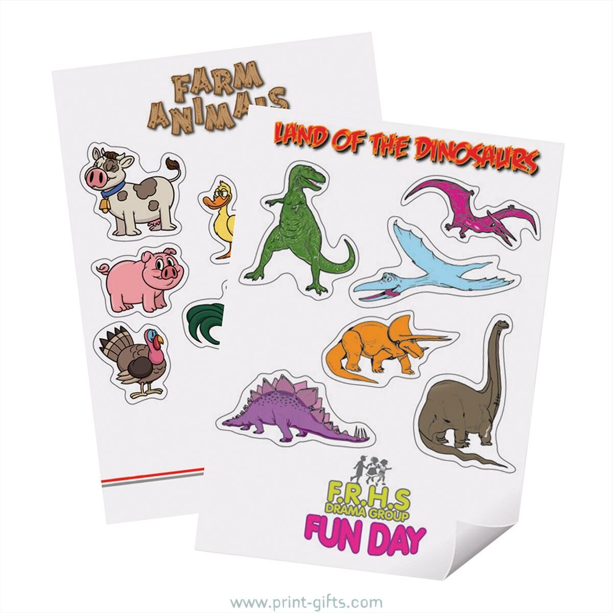 Bespoke Promotional Stickers Set