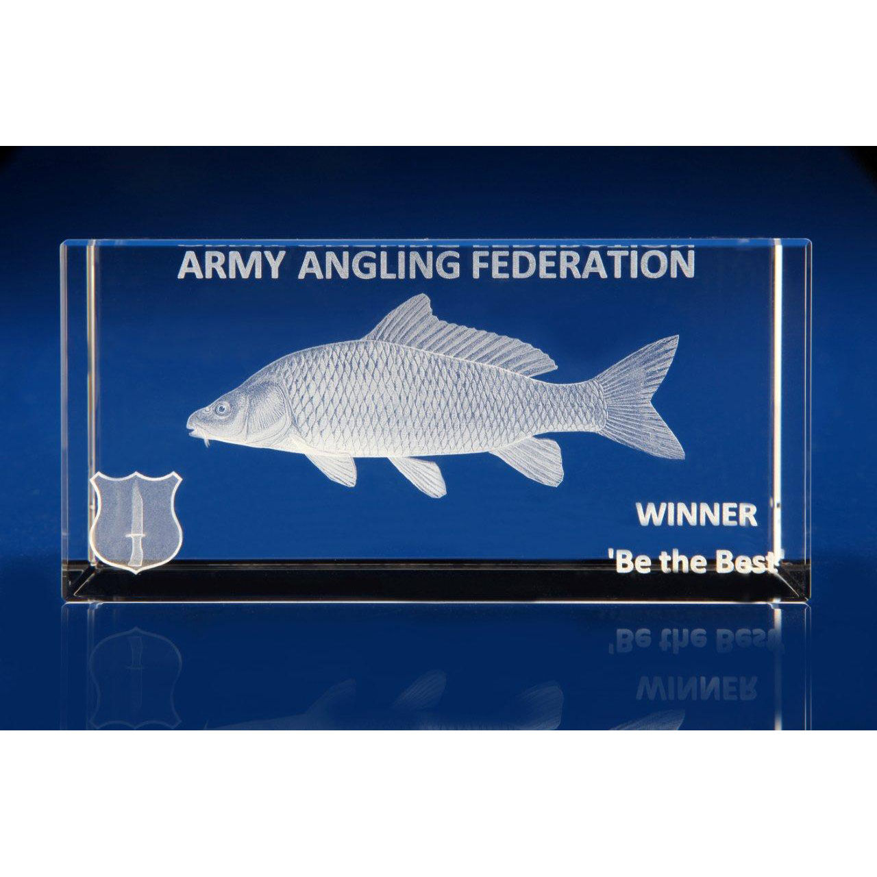 3D Glass Awards for Engraving