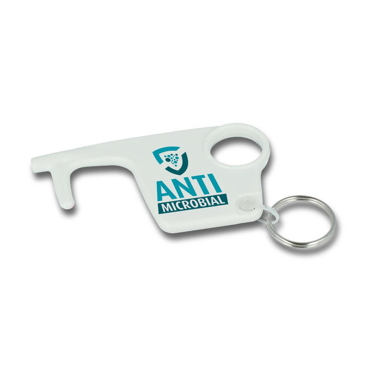 Antibac Recycled Staysafe Hook Keyring
