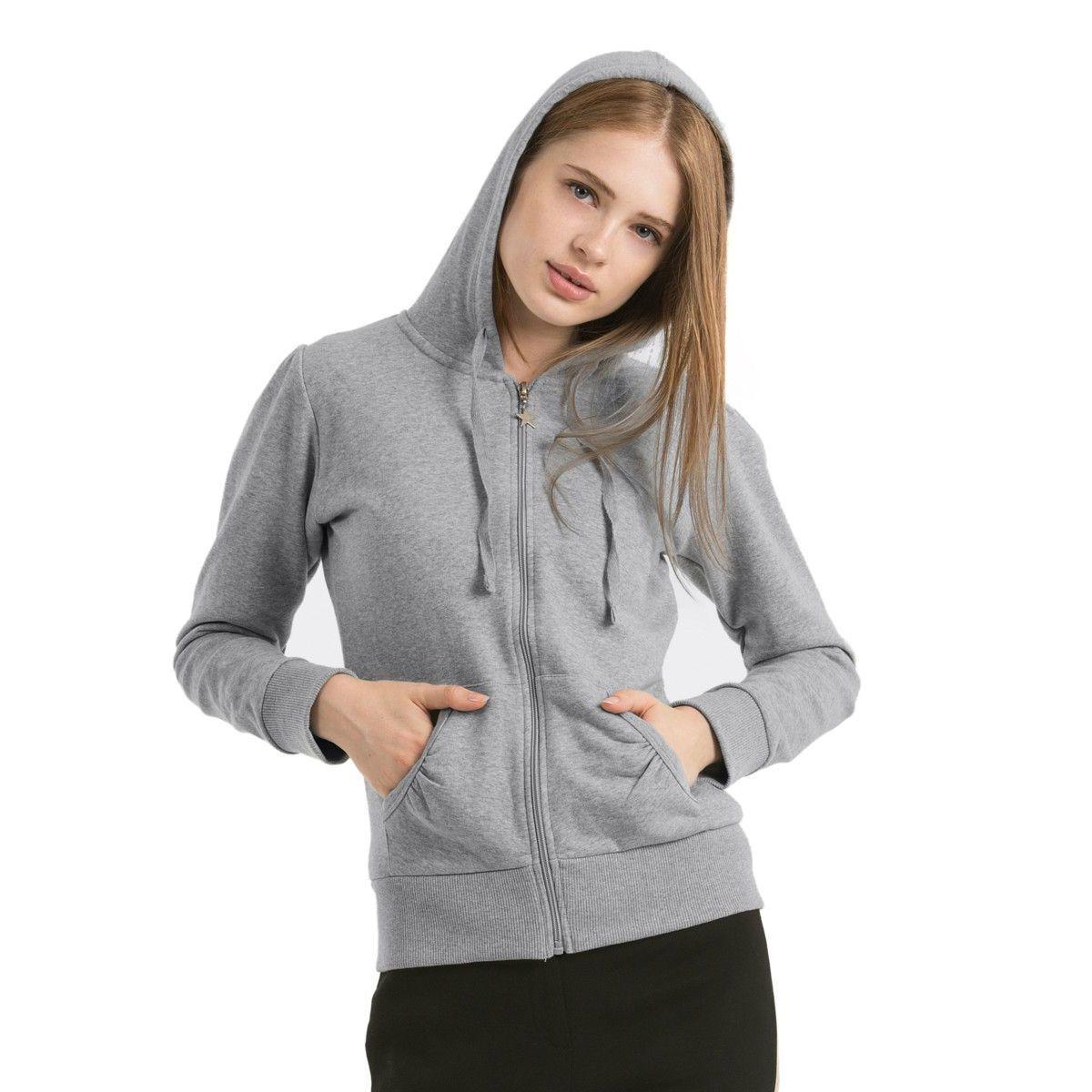 B&C Wonder Women Hooded Sweatshirt