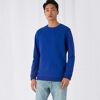 B&C Mens Set In Sweatshirt Blue