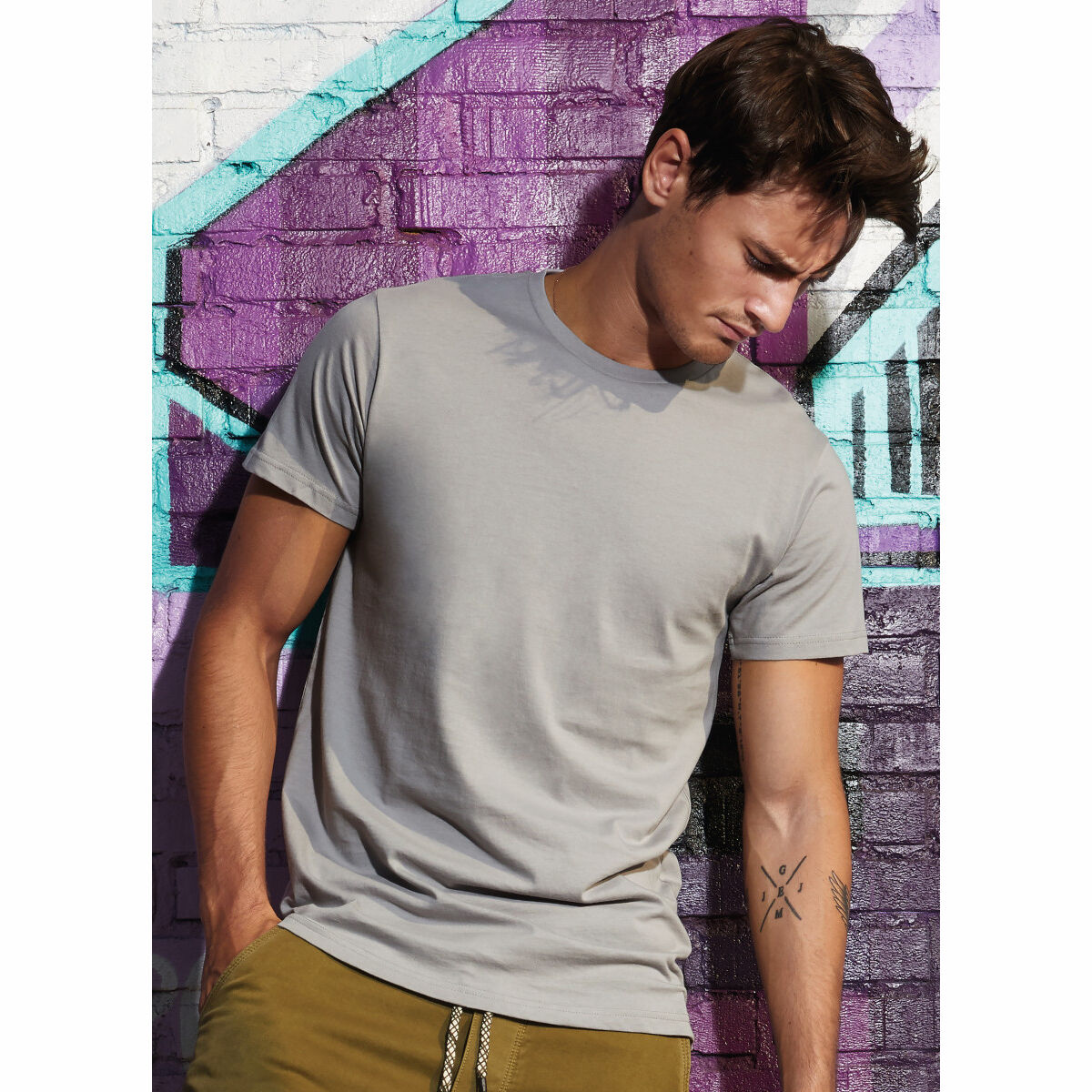 B&C Organic Mens T-shirts