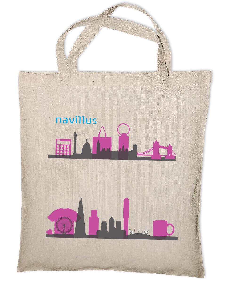 Printed Canvas Bags (Short Handles)