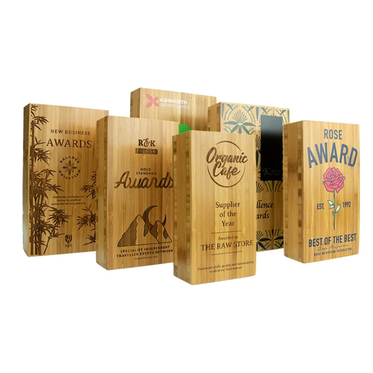Sustainable Wooden Awards
