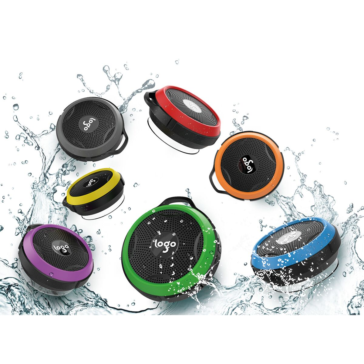 Bluetooth Shower Speakers
