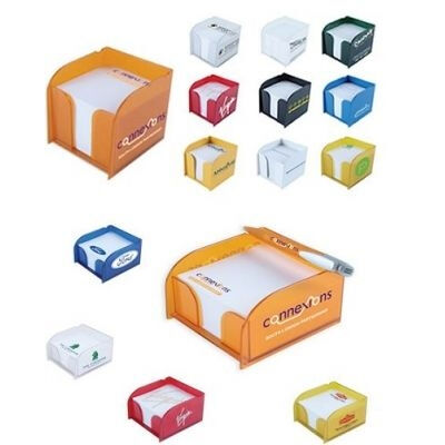 Branded Blockmate Desktop Paper Dispenser