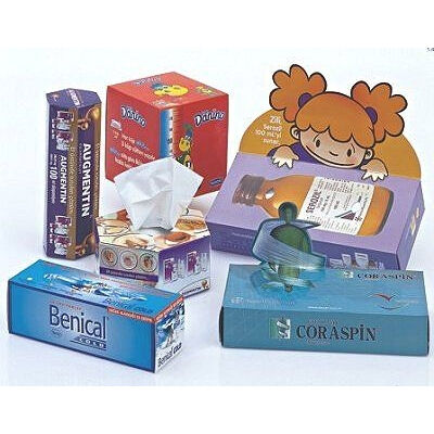 Branded Paper Tissue Boxes (50 or 100 sheets)