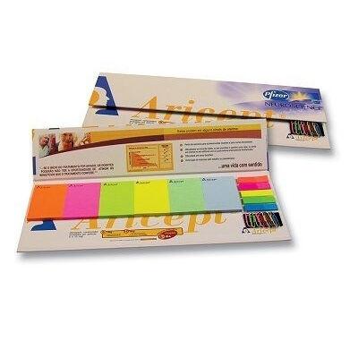 Branded Sticky Note & Tab Dividers Calendar Desktop Set