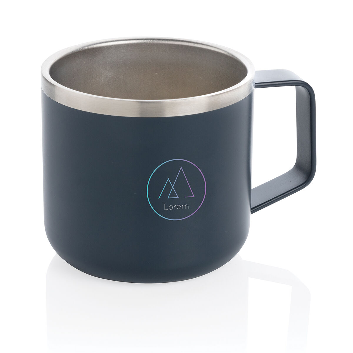 Camping Mug in Stainless Steel