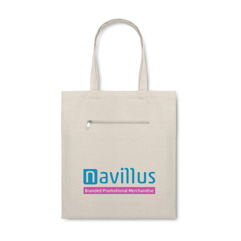 Organic Canvas Shopping Bag (Natural)