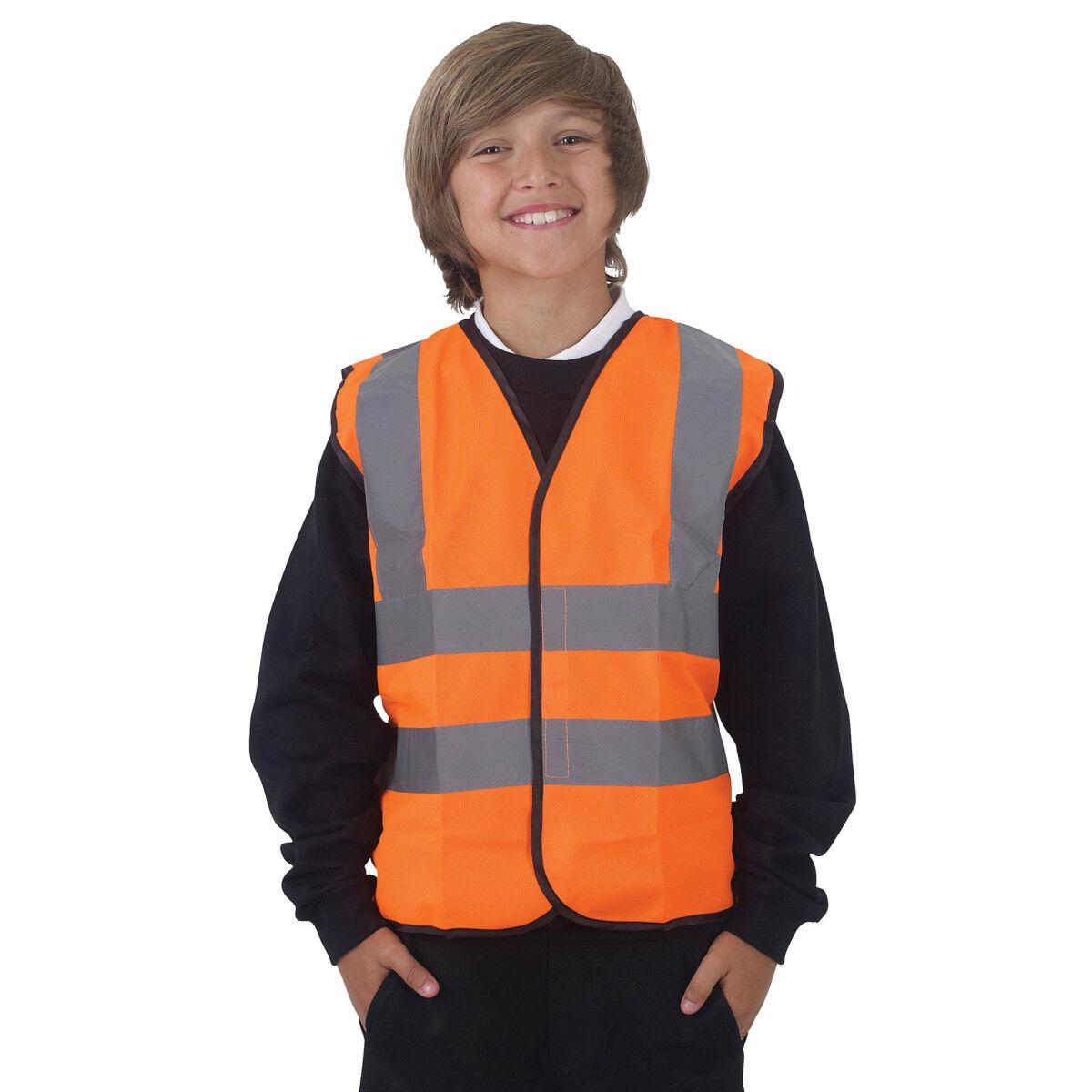 Childrens High Visibility Waistcoat