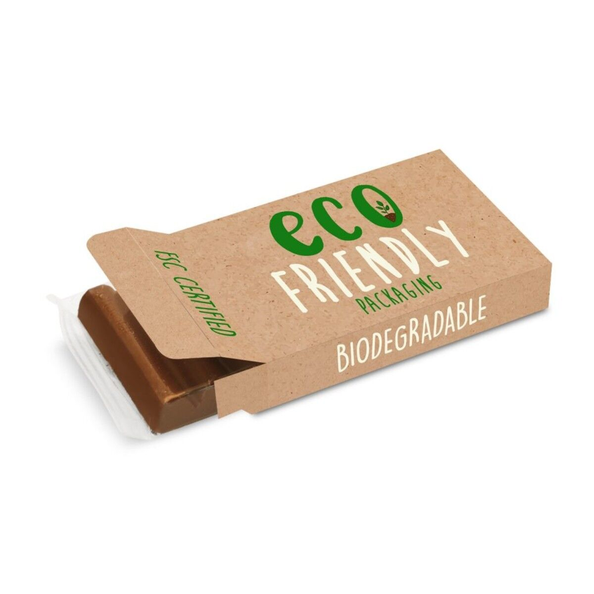 Chocolate Bar in Compostable Packaging 35g