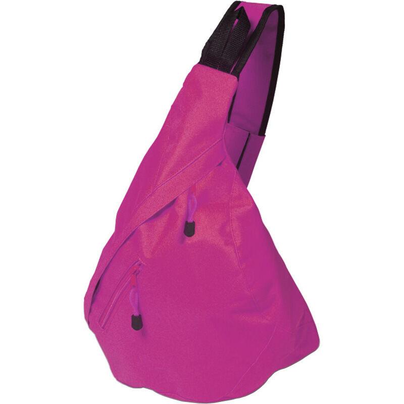 Triangular City Backpack - Pink