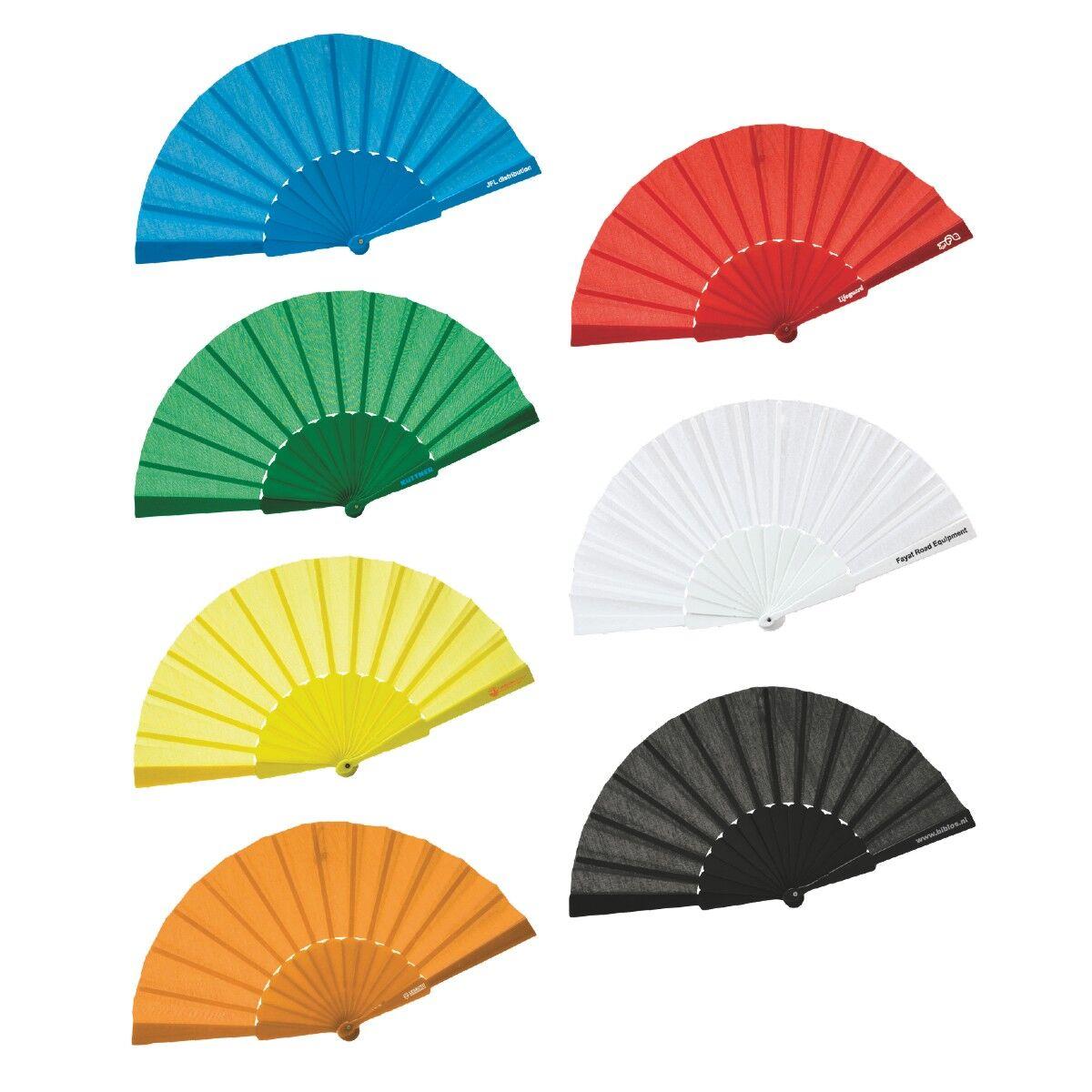 Colour Hand Fan
