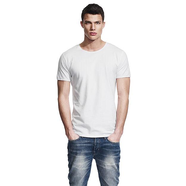 Men's Raw Edge Jersey T Shirt