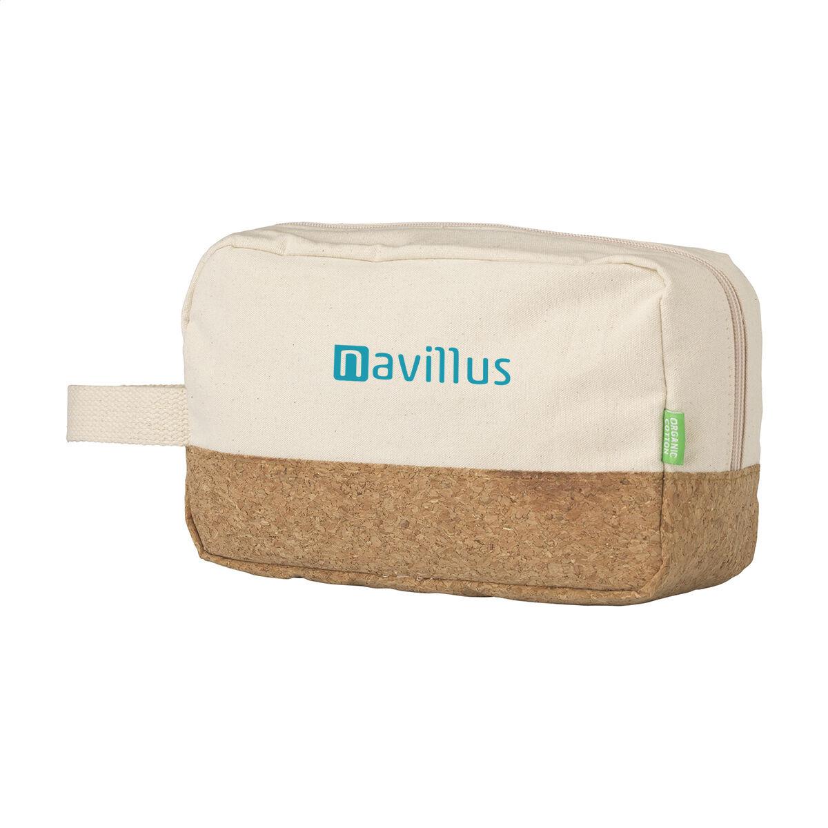 Cork Canvas Toiletry Bag
