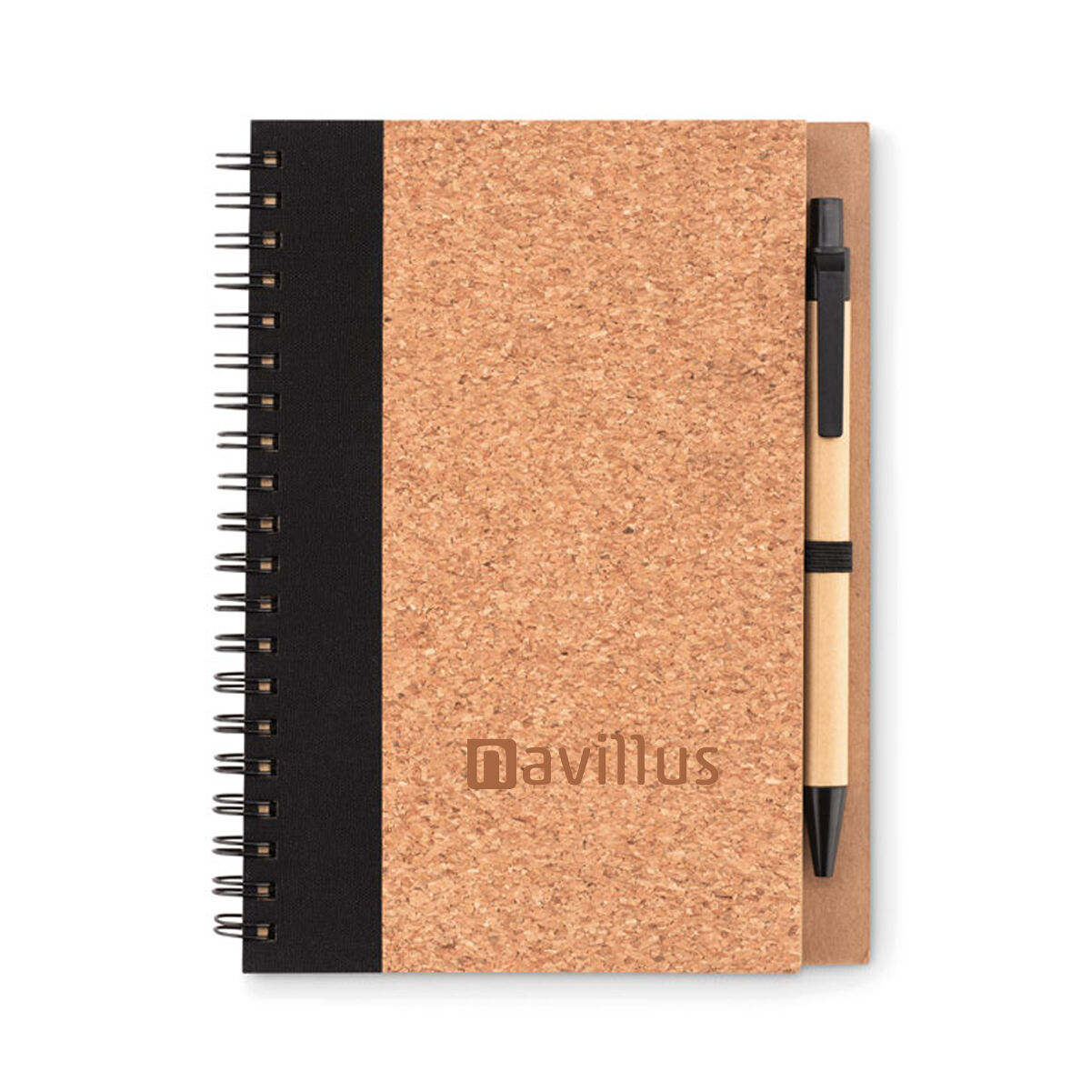 Cork Cover Notebook & Pen