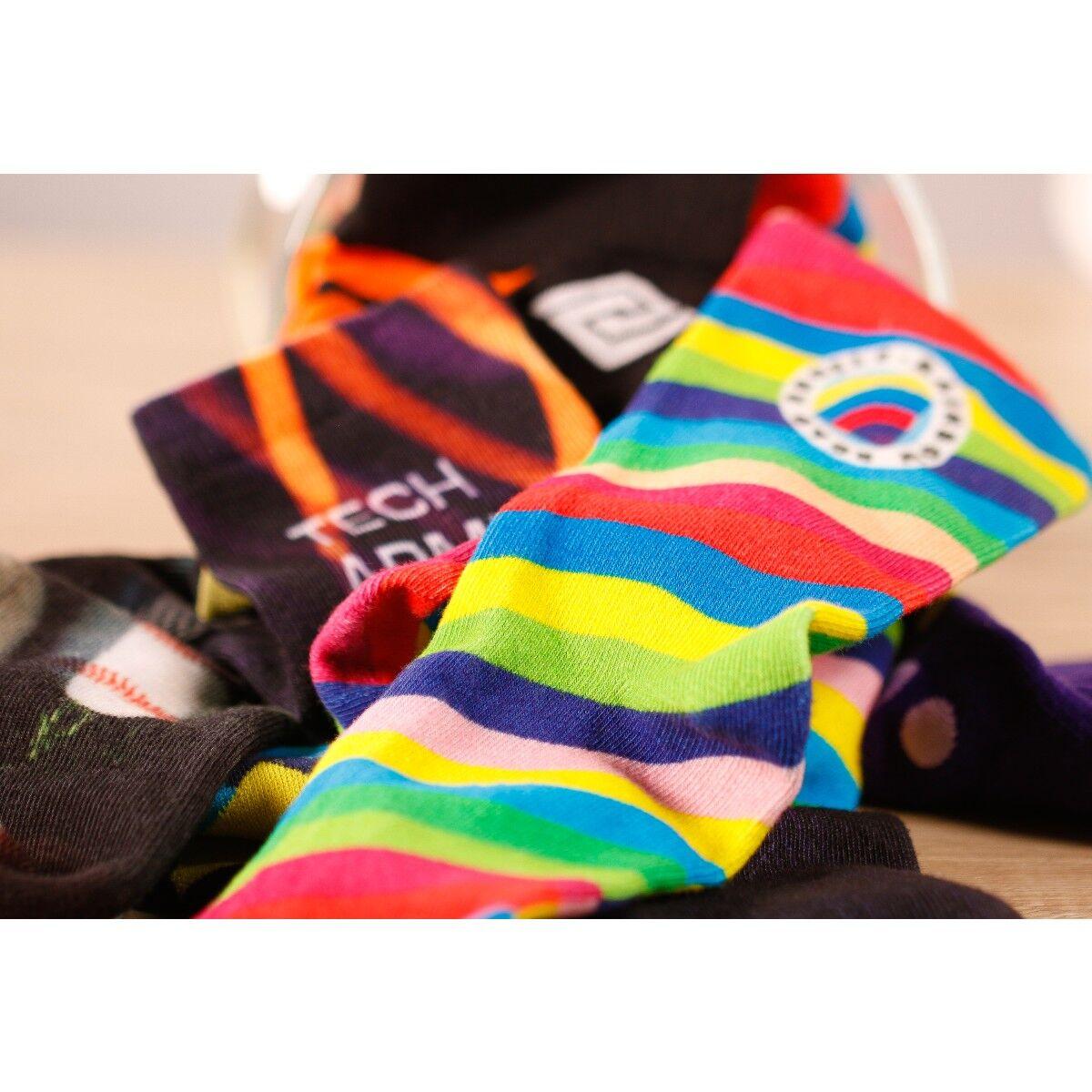 Custom Printed Cotton Socks