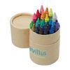 Crayons In Natural Card Tube