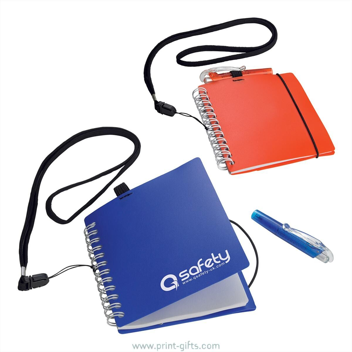 Mini Notebook & Pen with Lanyard