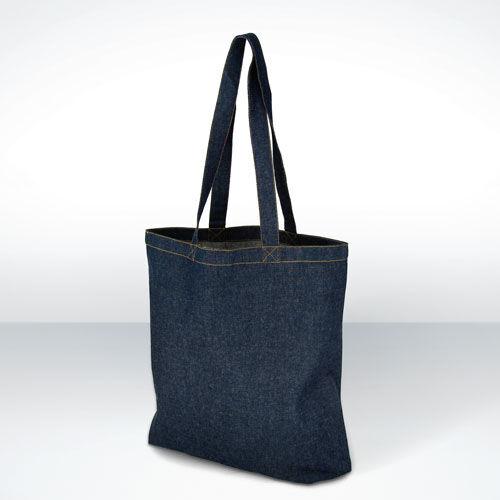 Denim Cotton Shopping Bags