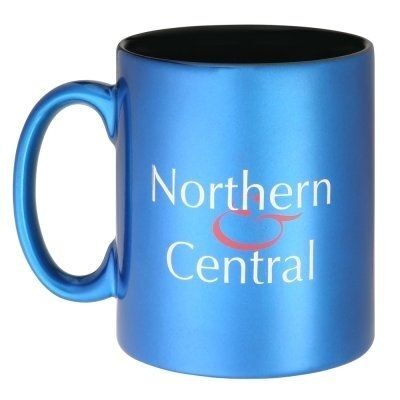 Durham Ceramic Mugs With Metallic Finish