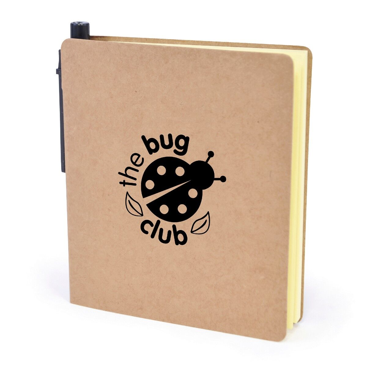 Eco Sticky Tab Notebook With Pen